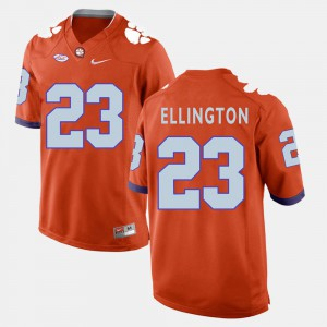 #23 Andre Ellington Clemson Tigers College Football Men Jersey - Orange