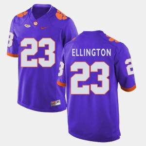 #23 Andre Ellington Clemson Tigers College Football Mens Jersey - Purple