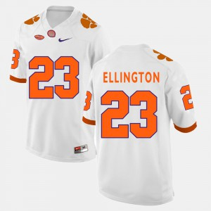 #23 Andre Ellington Clemson Tigers Mens College Football Jersey - White