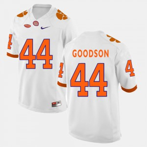 #44 B.J. Goodson Clemson Tigers College Football Mens Jersey - White
