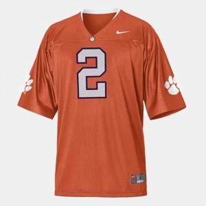 #2 Sammy Watkins Clemson Tigers Mens College Football Jersey - Orange