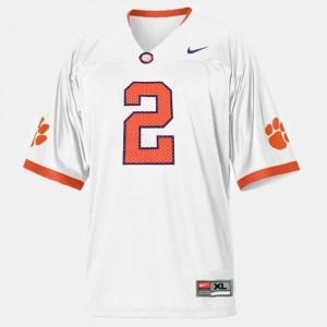 #2 Sammy Watkins Clemson Tigers College Football Men's Jersey - White