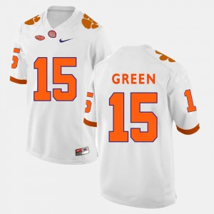 #15 T.J. Green Clemson Tigers For Men College Football Jersey - White