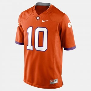 #10 Tajh Boyd Clemson Tigers College Football Mens Jersey - Orange