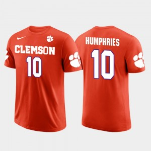 #10 Adam Humphries Clemson Tigers Future Stars Tampa Bay Buccaneers Football For Men's T-Shirt - Orange
