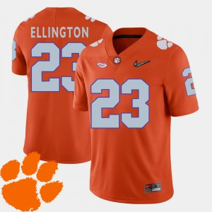 #23 Andre Ellington Clemson Tigers College Football 2018 ACC Mens Jersey - Orange