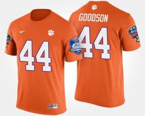 #44 B.J. Goodson Clemson Tigers For Men Bowl Game Atlantic Coast Conference Sugar Bowl T-Shirt - Orange