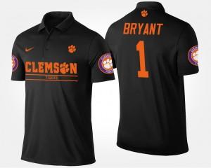 #1 Martavis Bryant Clemson Tigers Bowl Game Atlantic Coast Conference Sugar Bowl Men Polo - Black