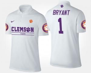 #1 Martavis Bryant Clemson Tigers Men Polo - White