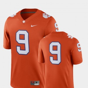 #9 Clemson Tigers College Football For Men's 2018 Game Jersey - Orange