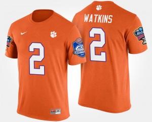 #2 Sammy Watkins Clemson Tigers Bowl Game Atlantic Coast Conference Sugar Bowl Men's T-Shirt - Orange